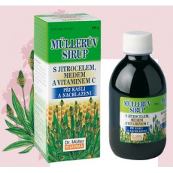 Lándzsás Utifü szirup mézzel és C-vitaminnal 320g