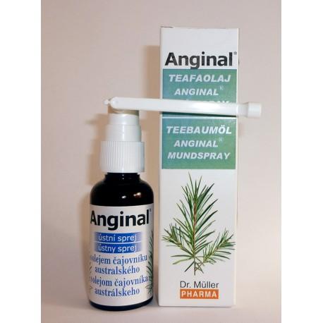 Teafaolajos Anginal® szájspray